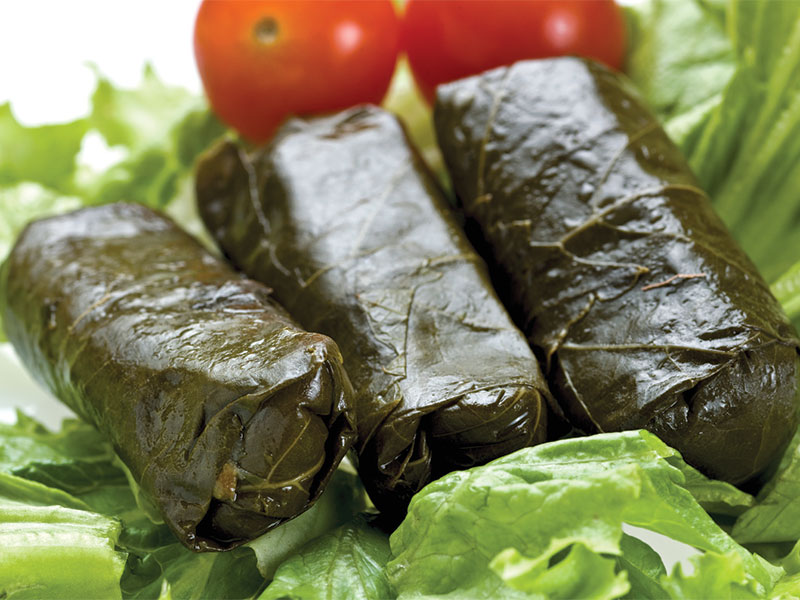 wrapped-grape-leaves